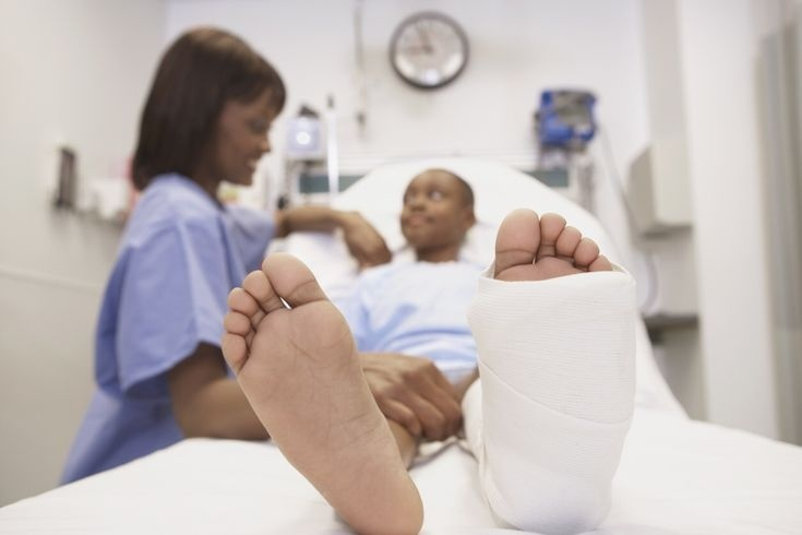 a nurse is caring for a client who cannot bear weight on his fractured ankle-1
