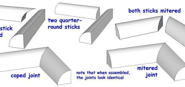How To Cut Quarter Rounds For A 90, How To Cut Quarter Round Corners