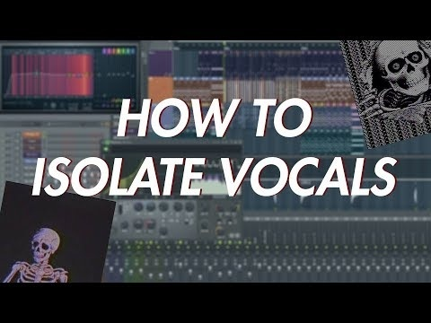 how to isolate vocals in fl studio-1