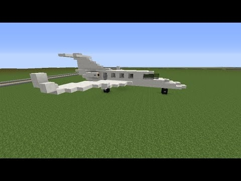 how to make a plane in minecraft-0