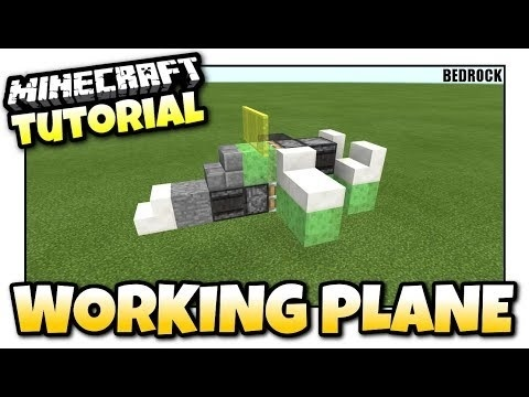 how to make a plane in minecraft-1