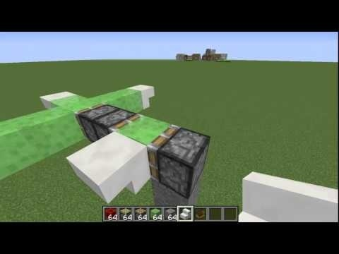 how to make a plane in minecraft-2