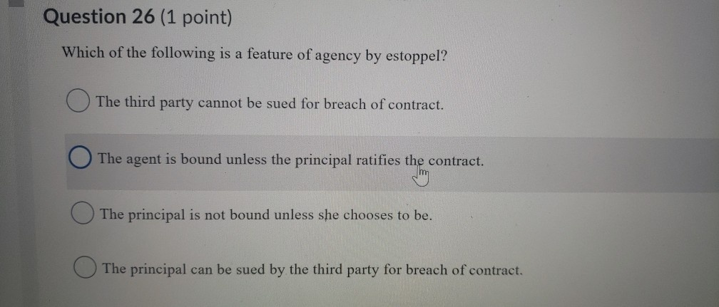 which of the following does not apply to a seller who is a principal?-3