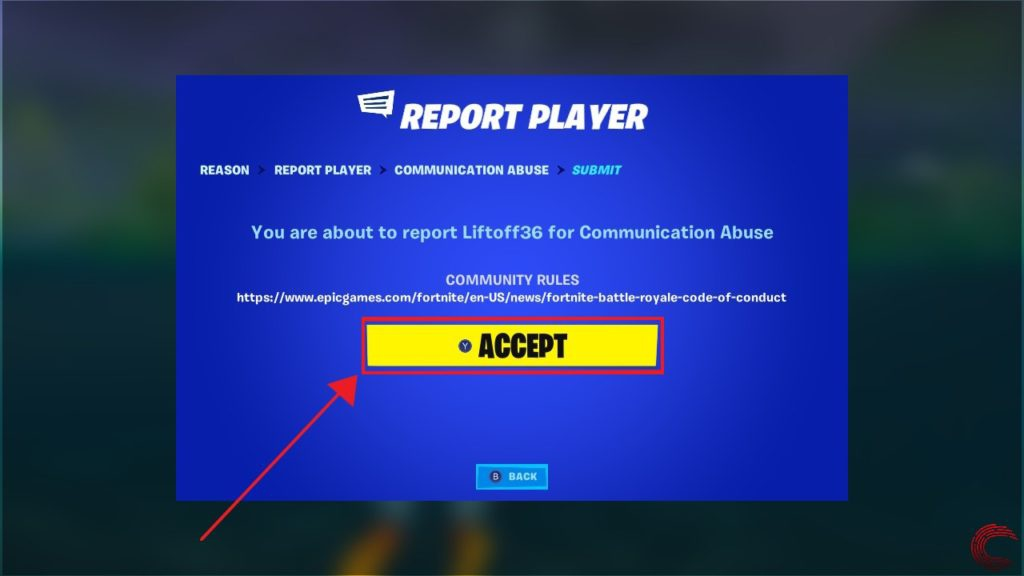 how to report someone on fortnite-8