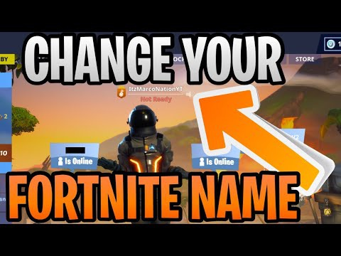 change name on fortnite-4