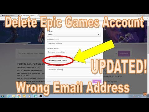 how to delete epic games account-1