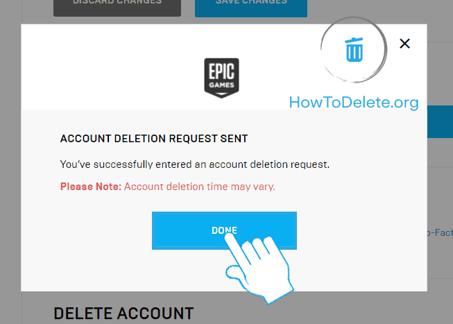 how to delete epic games account-6