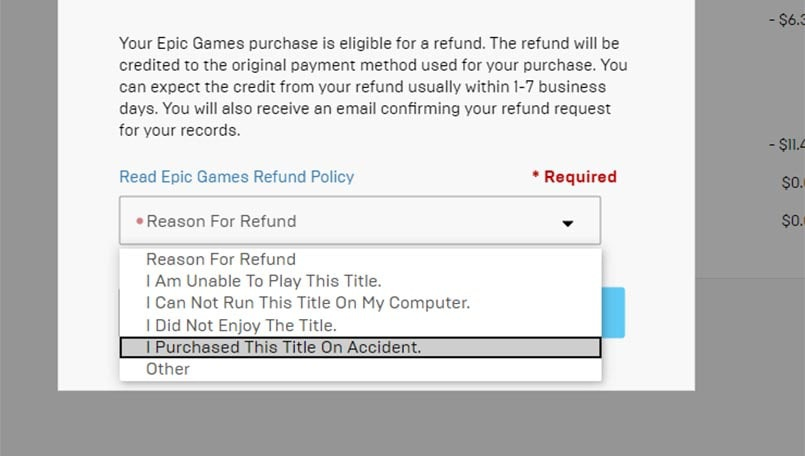 epic games store refund-6
