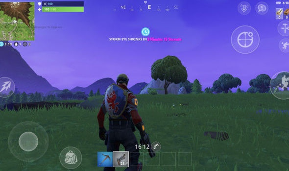 is fortnite on android-0