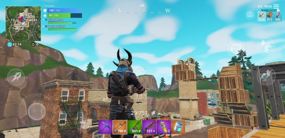 is fortnite on android-3