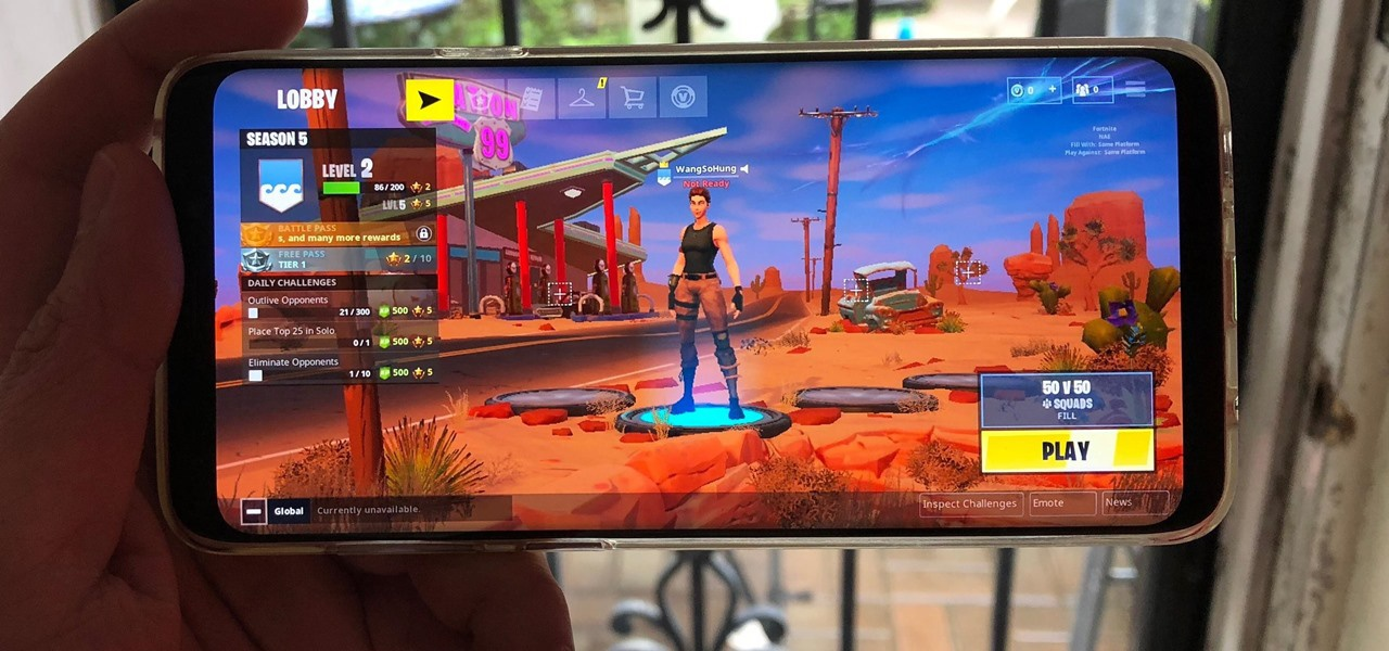 is fortnite on android-7