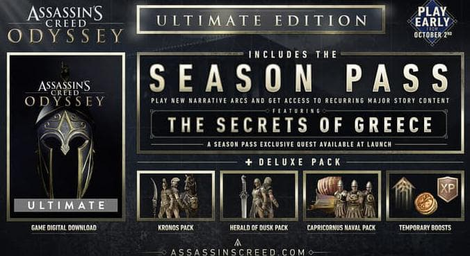 assassin's creed odyssey ultimate edition-1