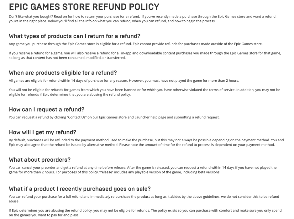 epic games return policy-7